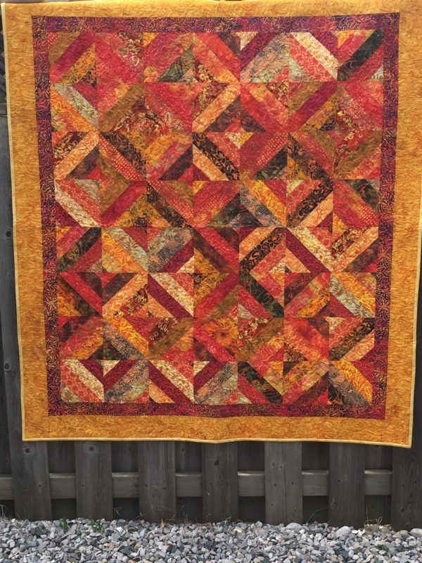 FOR SALE Fire Dragon Quilt